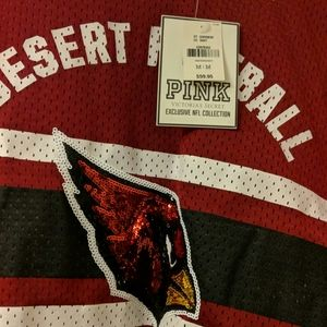 PINK Cardinals Football Jersey